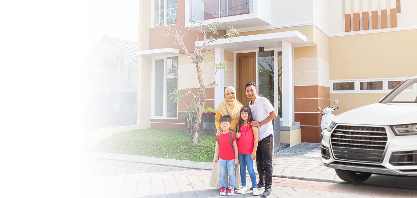 Dapatkan kunci kepada rumah pertama anda